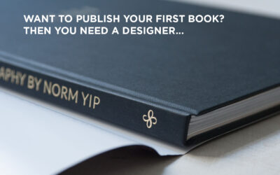 Want to publish your first book? Then you need a designer.