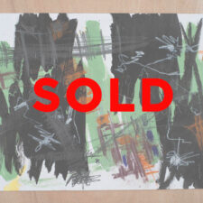 Synaptic Hard Wiring, No. 2, 2017 - SOLD. Artist Yipfung