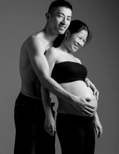 Pregnancy portrait photography of Kerry & Bobby by Norm Yip