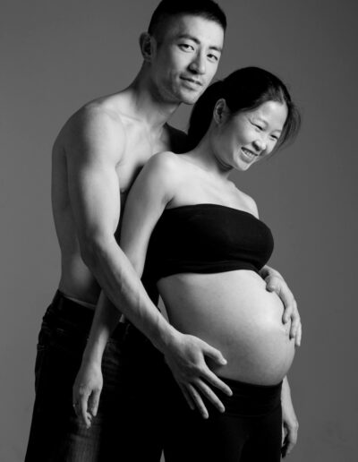 Pregnancy portrait photography by Norm Yip