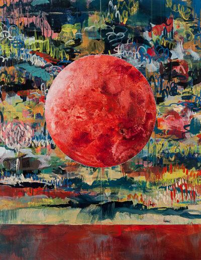 Arcadia No. 6 (Blood Moon II), 2021